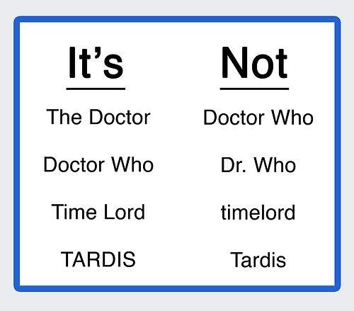 Doctor lingo