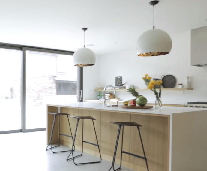 Современный дом 100 кв м в стиле минимализм. Фото