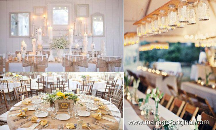 Décoration mariage vintage | Mariage vintage / rétro chic ... on
