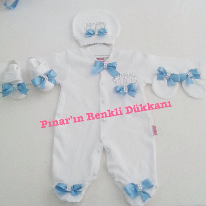617c2adc17e4 Kişiye özel Bebek hastane çıkışı