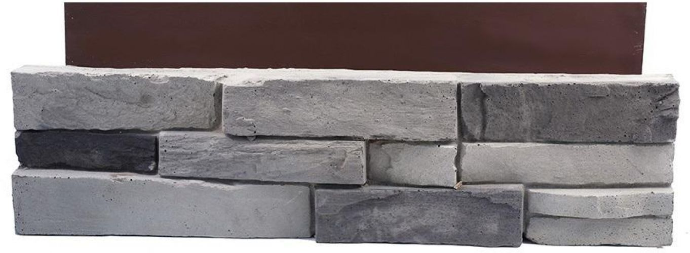 Picture 2 Of 6 Grey Stone House Stone Siding House House Siding Panels