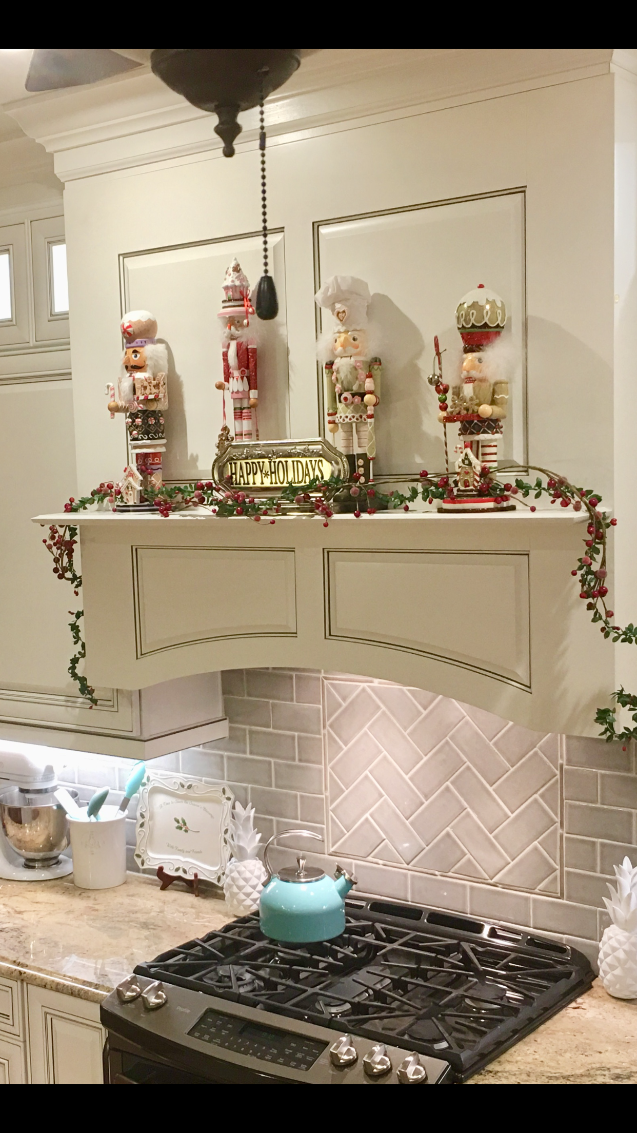 christmas kitchen cabinet decor over oven nutcracker kitchen cabinets decor christmas kitchen on kitchen xmas decor id=81000