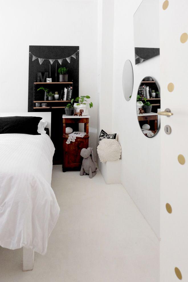 Urban jungle bloggers plant shelfie minza will sommer i for Spiegelwand schlafzimmer