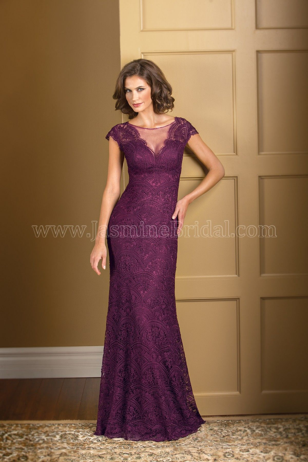Next online party dresses - Jasmine Bridal Mother Of The Bride Groom Dress Jade Couture Style K178011 In Cranberry Purple Evening Dresses Onlinecheap