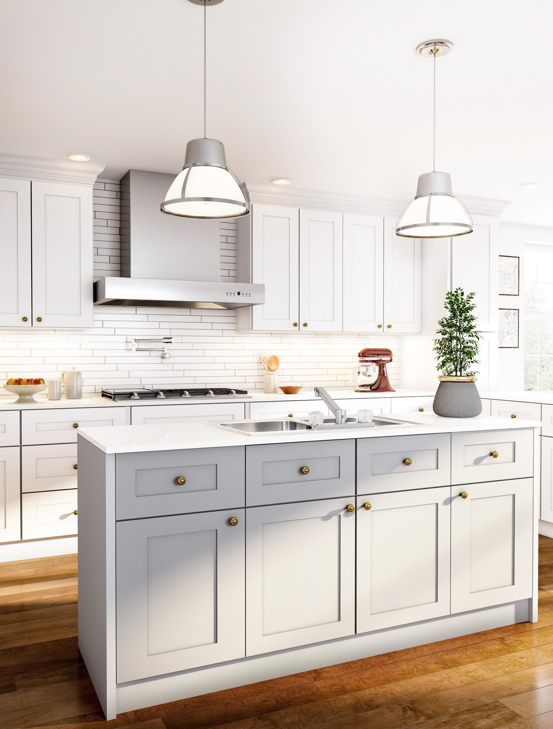 Remodeling Your Kitchen On A Budget Classic White Kitchen White Kitchen Design Kitchen Remodel