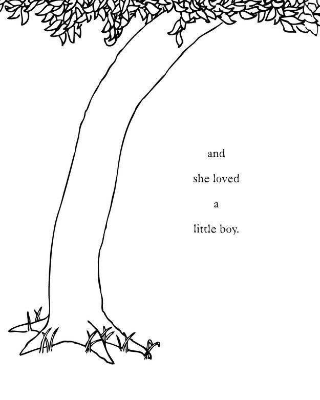 The Giving Tree Coloring Pages From Nature Coloring Pages Category