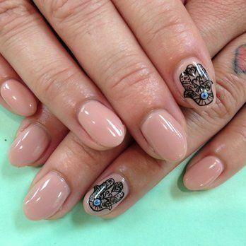 hamsa nail art design in 2020  nails nail art nail