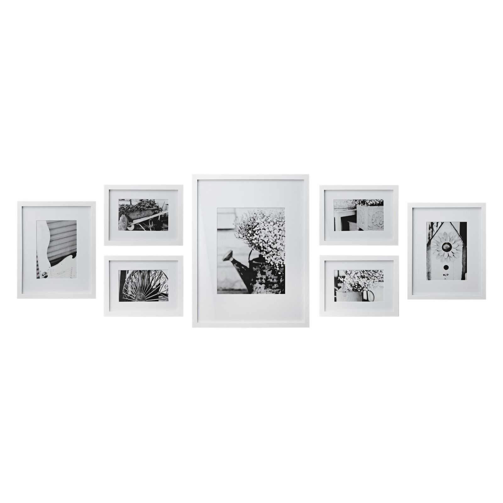 John Lewis Black Photo Frame Set | Frameswalls.org