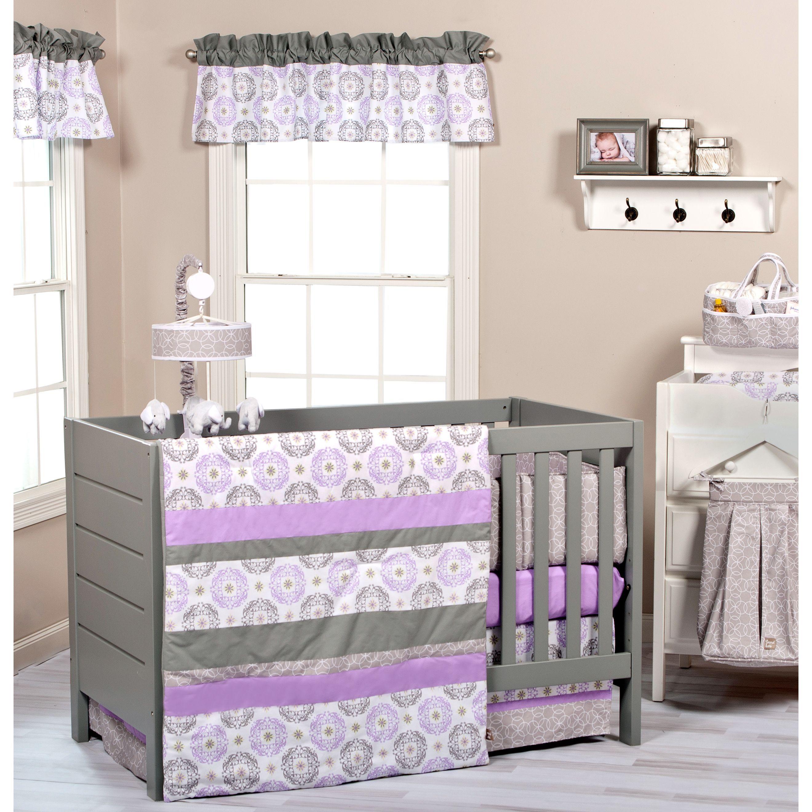 Florence 3 Piece Crib Bedding Set | Nursery | Pinterest