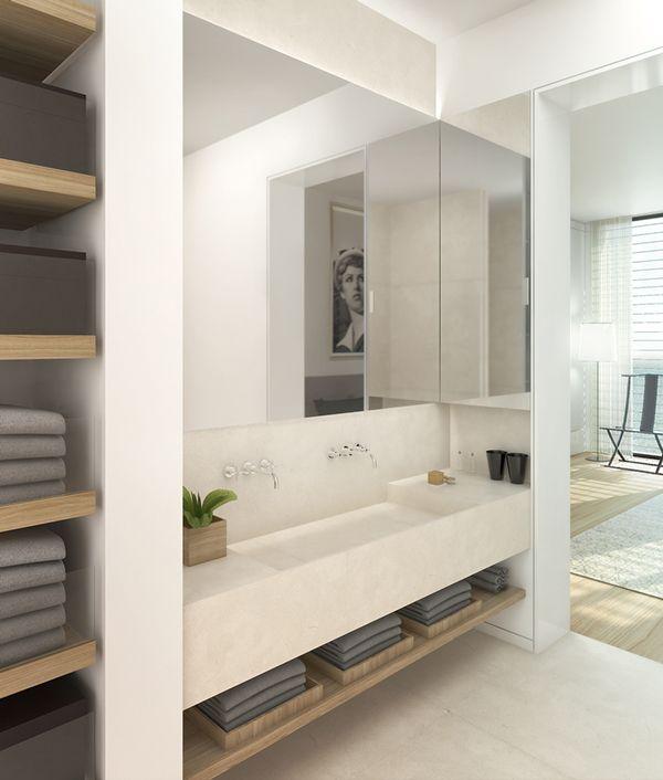 Badkamer + Toilet - badkamermeubel   Pinterest - Badkamer, Modern ...