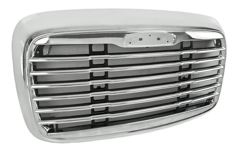 Chrome Hood Grille Fits Freightliner Columbia Standard Style Freightliner Grilles Chrome