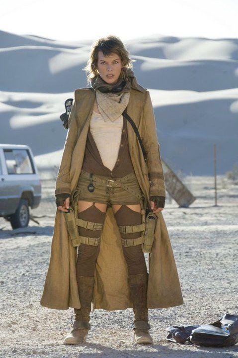 Milla Jovovich Resident Evil Extinction Resident Evil Alice