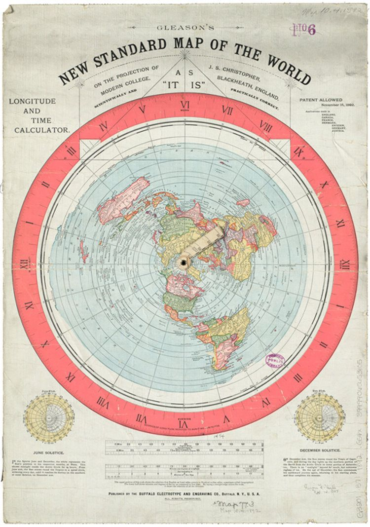 Gleason new standard map of the world map flat earth gumiabroncs Images