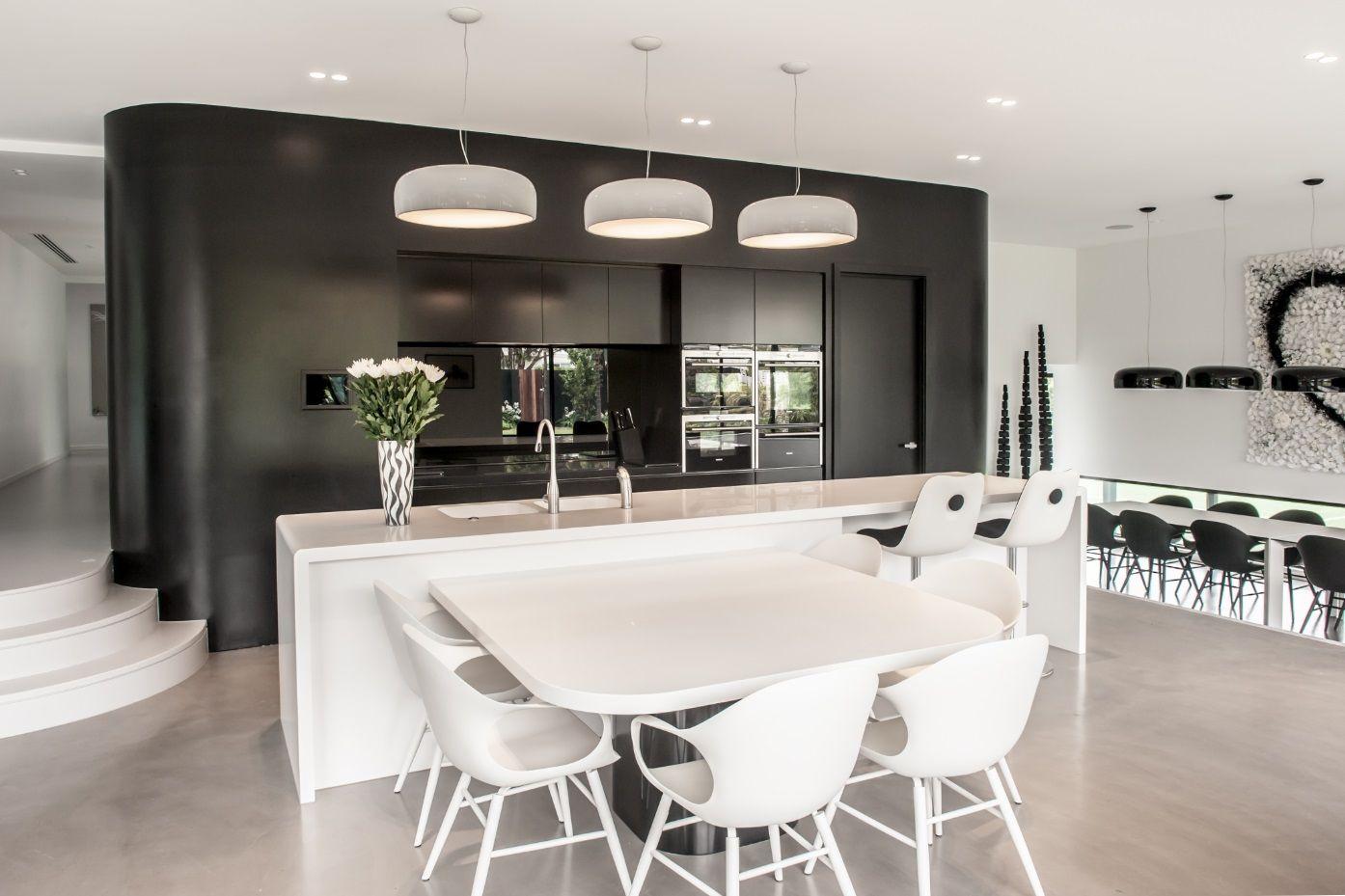 The Corian® Kitchen benchtop in Deep Nocturne. #kitchendesignstudio ...