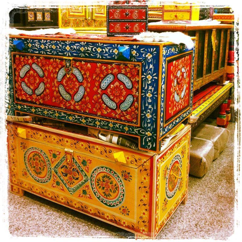 Jodhpurtrends Painted Indian Furniture