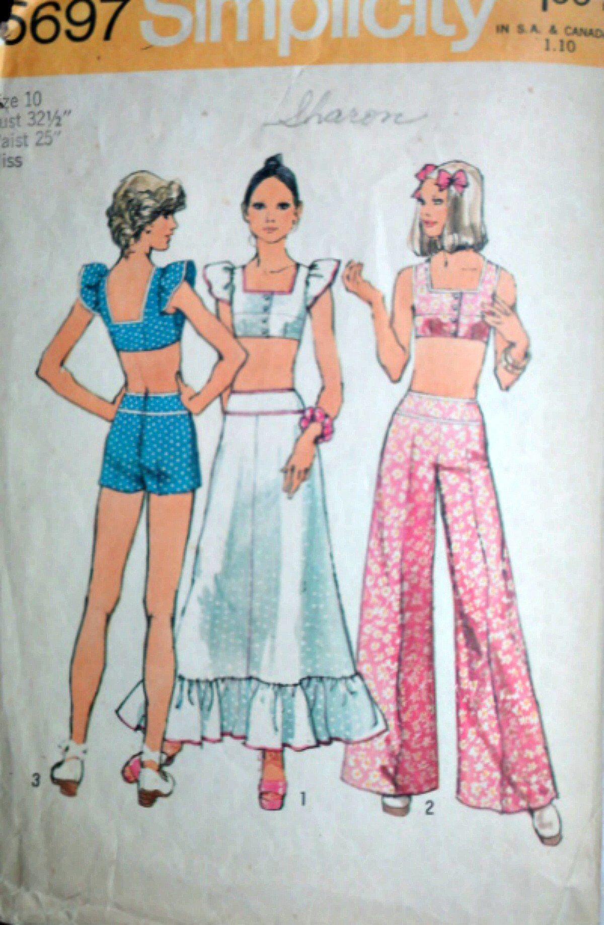 f989415f8e9a1 Vintage 70 s Simplicity 5697 Sewing Pattern
