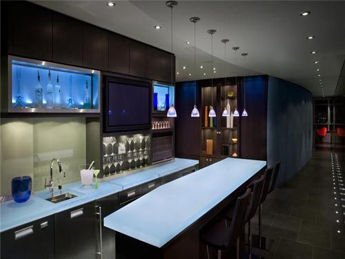 Modern home bar designs with stylish model samples photos pictures for house home design ideas - Stylish home bar ideas ...