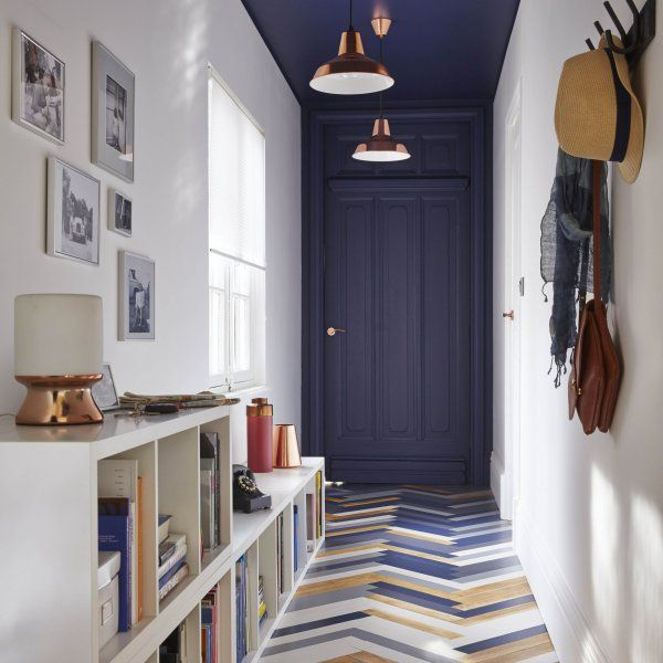 5 fa ons d 39 adopter le bleu marine dans sa d co entr es. Black Bedroom Furniture Sets. Home Design Ideas