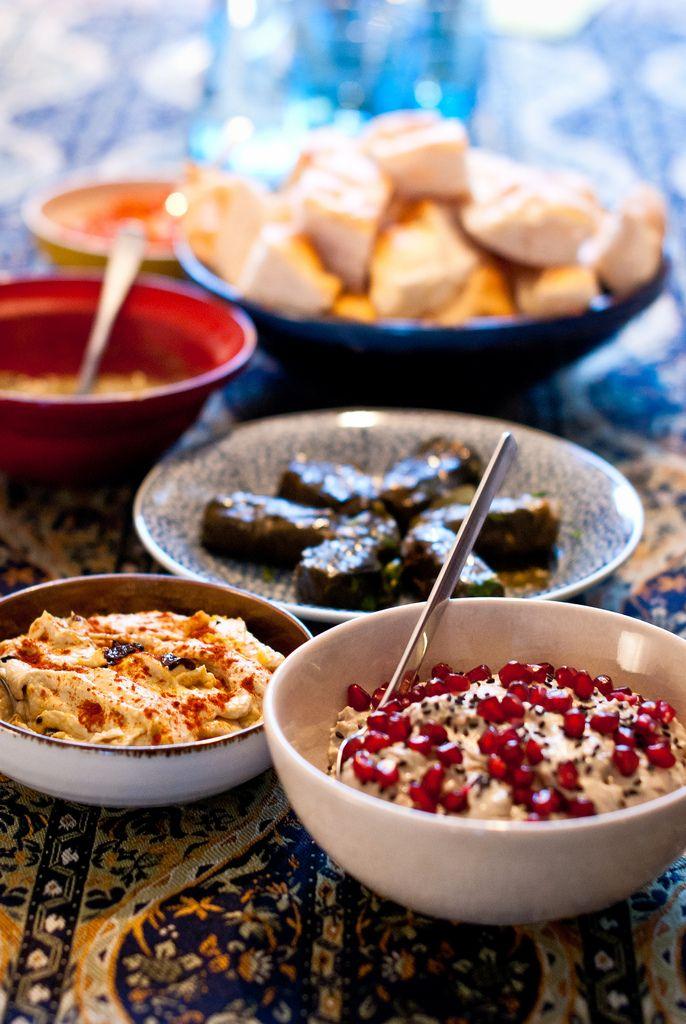 Baba ganoush, fattee en andere heerlijkheden #babaganoushrezept