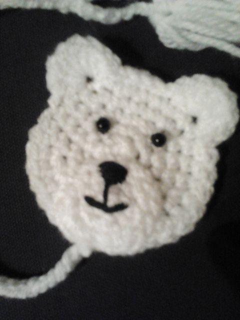 Polar Bear Applique | UNCINETTO INNANZITUTTO - CROCHET - GANCHILLO ...
