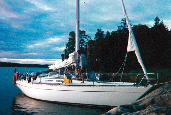 The She 36 is one of the classic Sparkman & Stephens designs from the late 1970s.