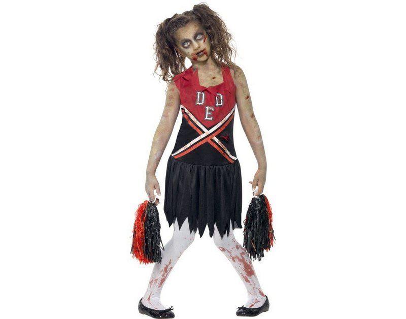Zombie Cheerleader Kostum Halloween Kostume Fur Madchen Gruselige Halloween Kostume Und Madchen Halloween