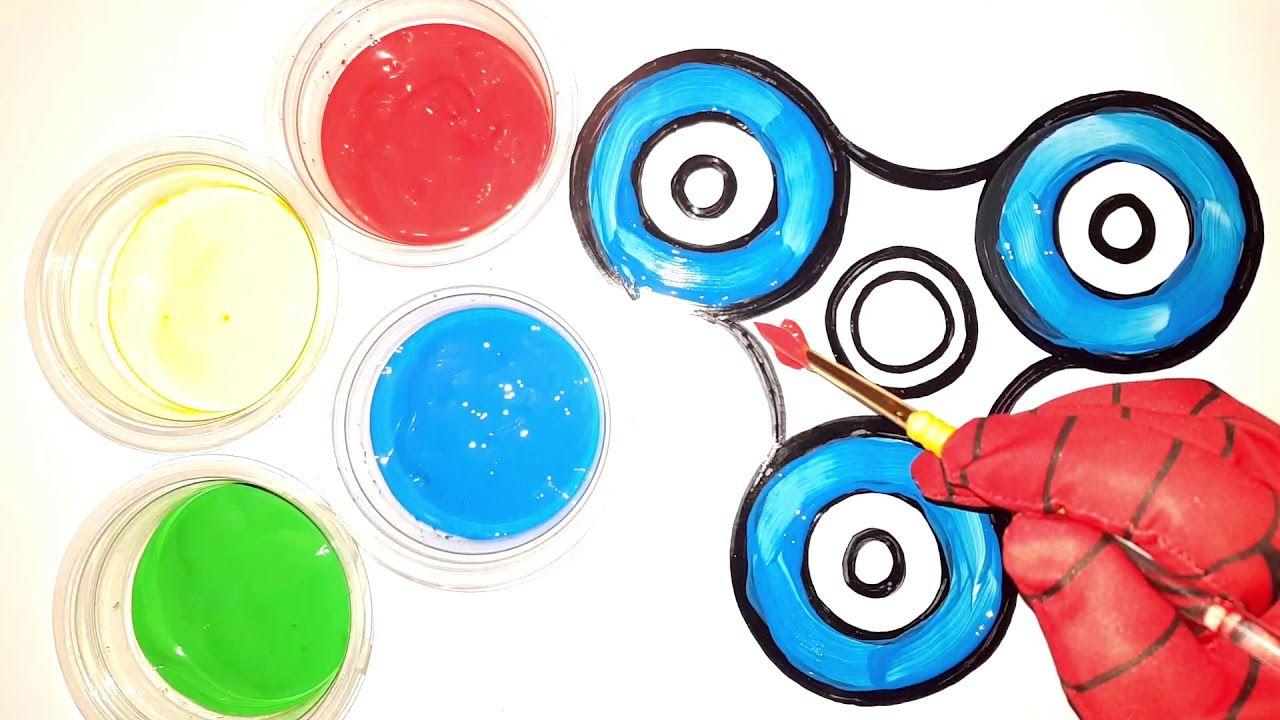 Painting Fidget Spinner For Kids