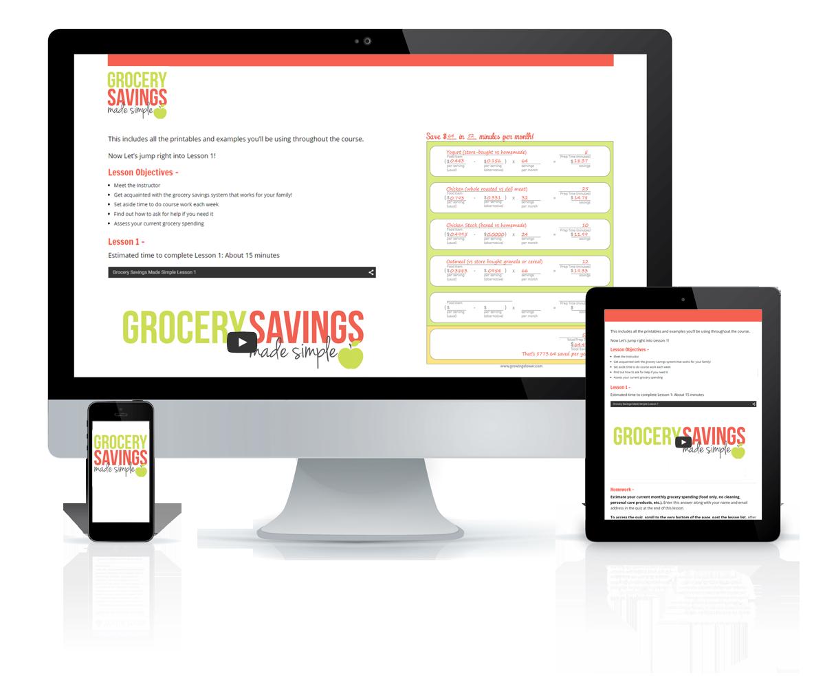 Grocery Savings Course