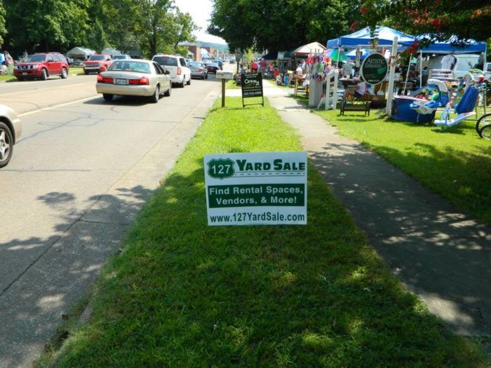 If You Happen To Find Yourself Driving Along Highway 127 On August 3 6 2017 Be Sure To Pull Over And Check Out The Famous 127 Yard Sale Road Trips 127