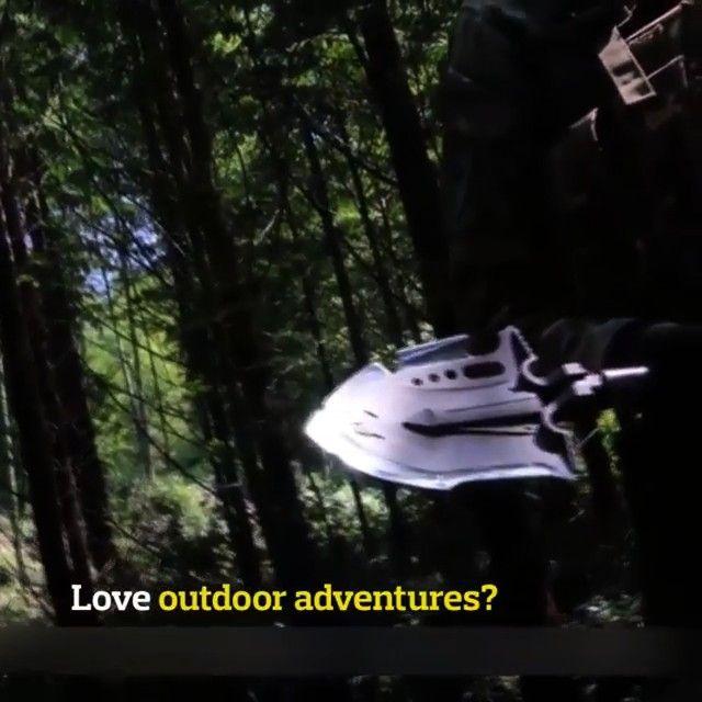 Folding Shovel - Pretty Little Deal Store - Military Folding Shovel        As avid campers ourselve