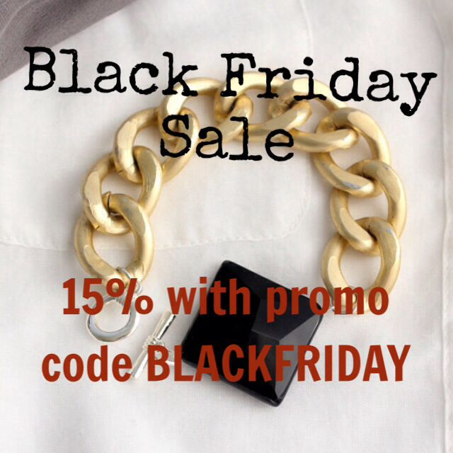 Black Friday Sale 15% off with promo code BLACKFRIDAY at checkout