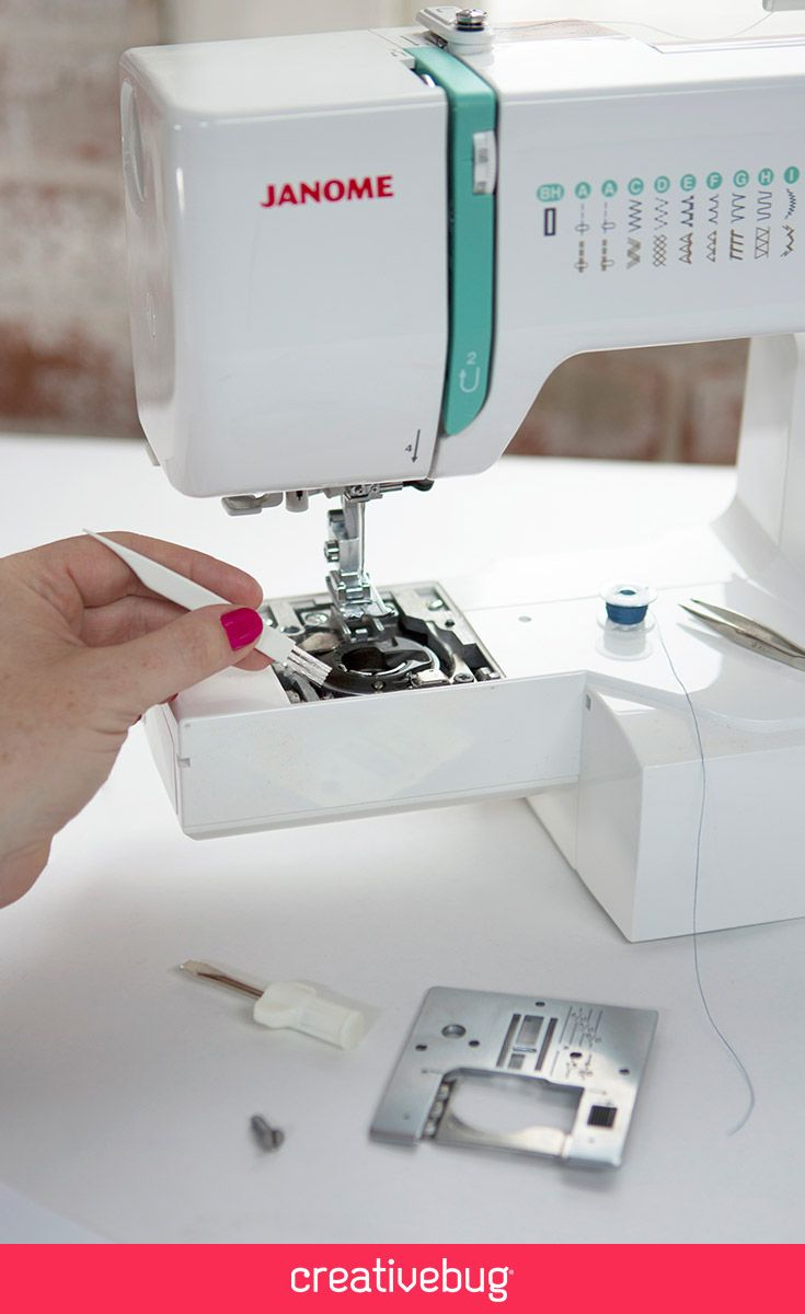 Learn basic sewing machine maintenance with the ladies of Fancy ...