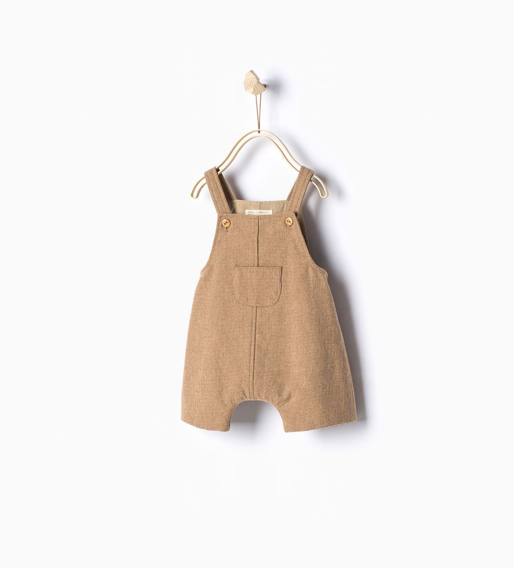 $29 ZARA Dungarees http://www.zara.com/us/en/new-in/mini/dungarees-with-front-pocket-c286506p2877102.html