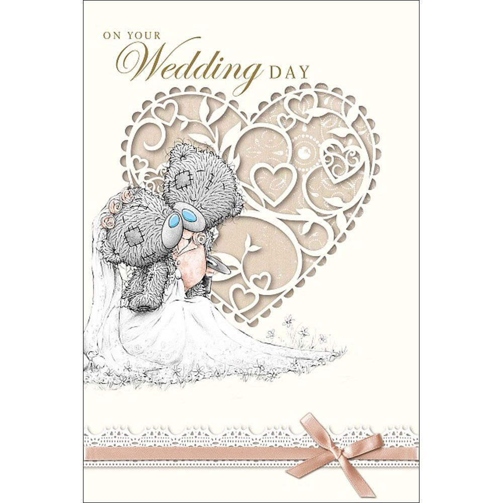 On Your Wedding Day Me to You Bear Card £3.59 | Tattered teddy ...
