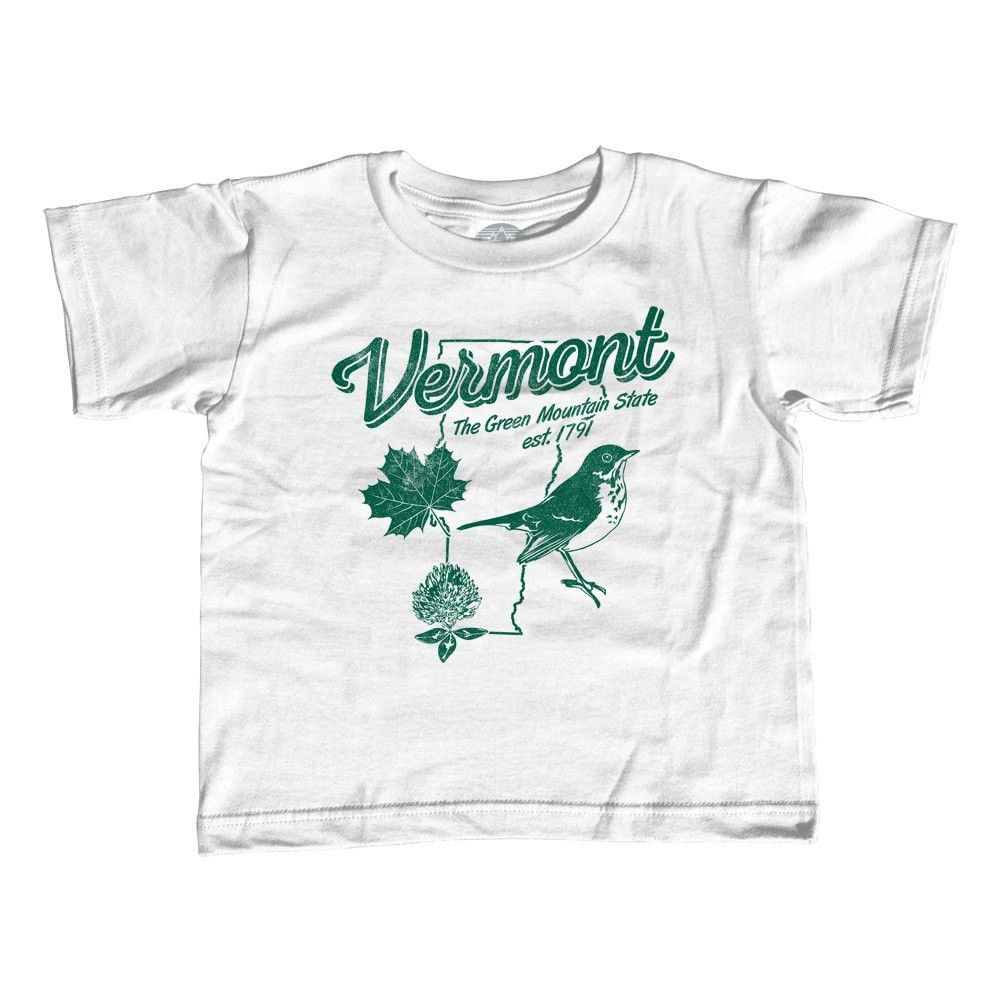 1a9942cc3fee4 Boy's Vintage Vermont T-Shirt | Products | Shirts, Unisex, T shirt