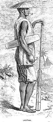 Sketch of a Laotian