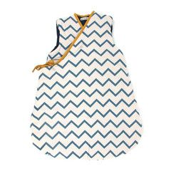 Großer Schlafsack Zigzag Blue (9-24M)