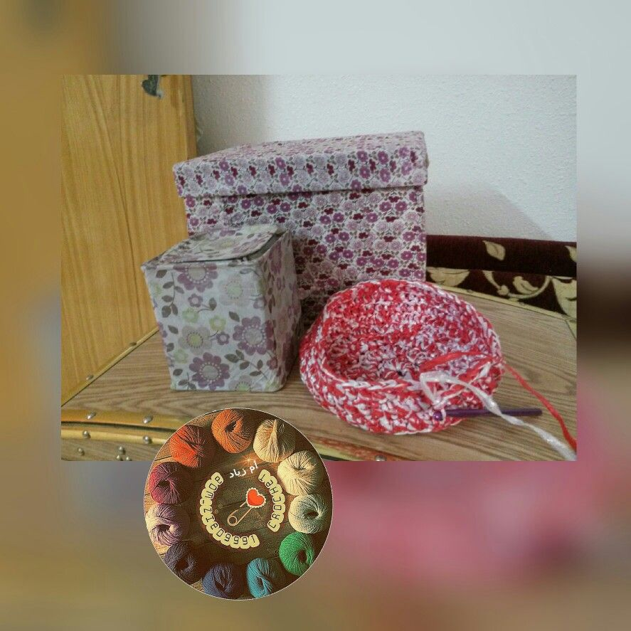 اعادة تدوير علب Decorative Boxes Decor Home Decor