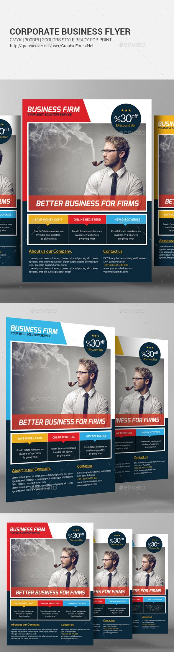 Corporate Agency Flyer Template Template Flyers And Design Templates