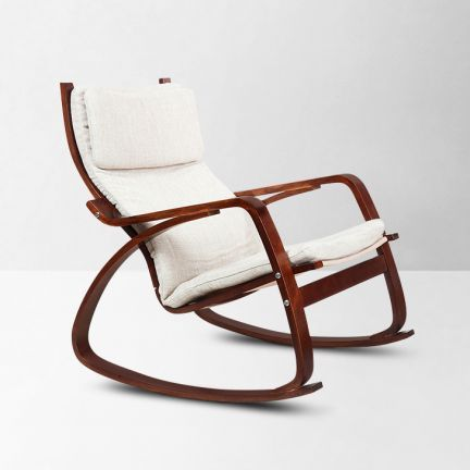 Wondrous Hometown Vita Rocker Chair Brown And Beige This Product Is Dailytribune Chair Design For Home Dailytribuneorg
