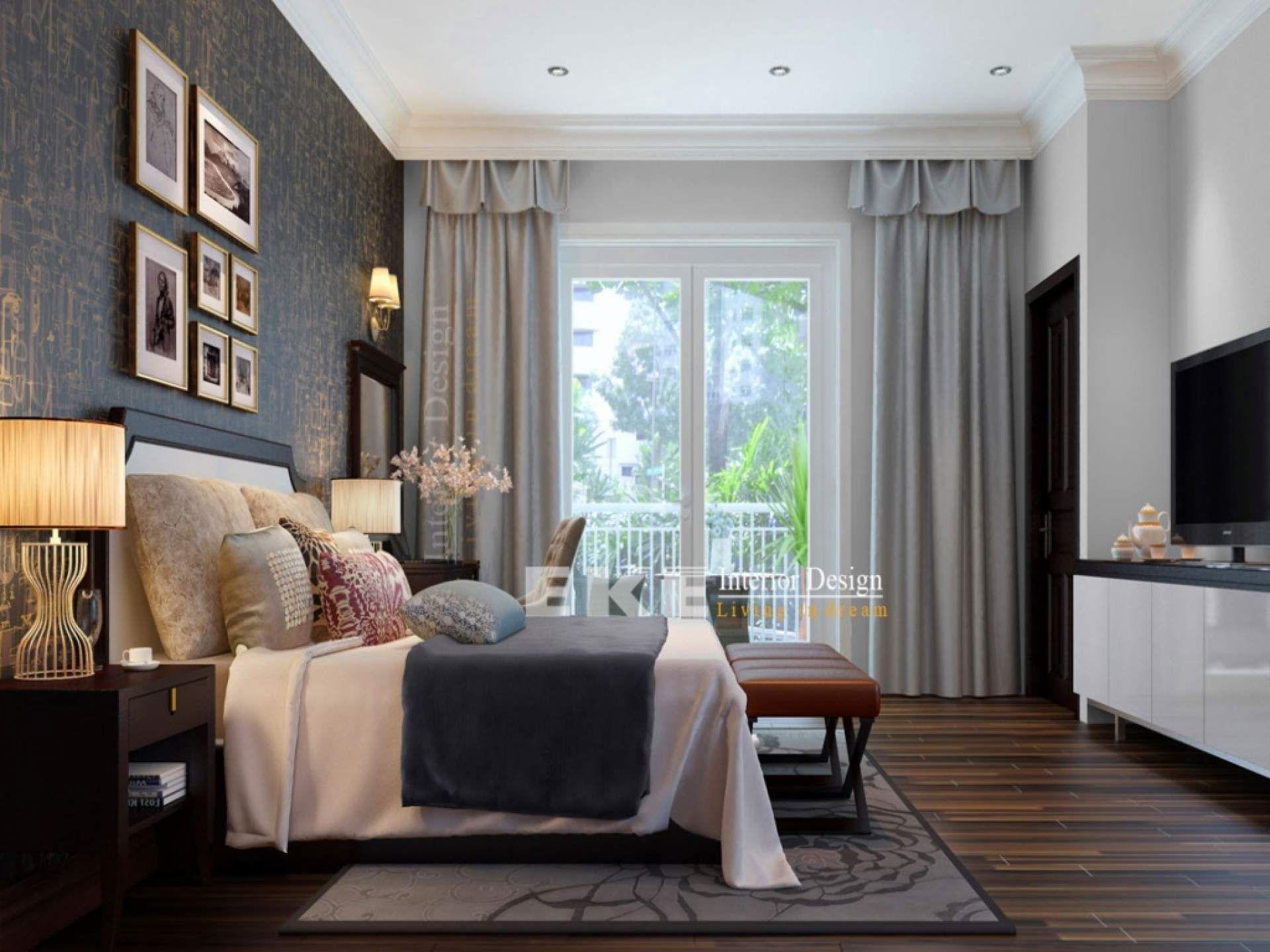 Impressive Modern Concept Classic Interior Bedroom Decor With Pretty