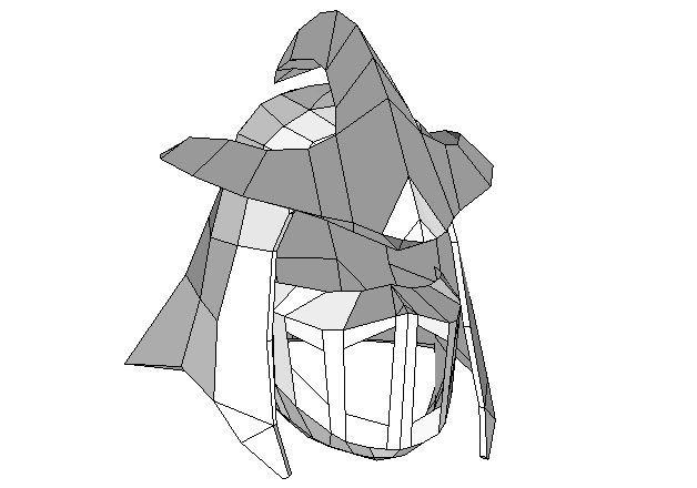 Teenage Mutant Ninja Turtles Life Size Shredder Helmet For Cosplay