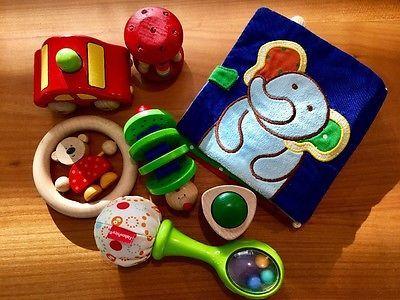 Das Beste Von Ebay Baby Spielzeug Paket Aus Holz Und Stoff Von Haba