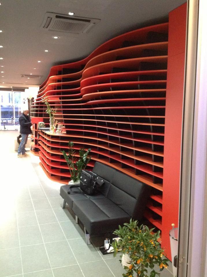 Entrance Crossfit SanMarco Gym - Mestre Venezia - Designer: Leonidas Paterakis for MT Arredamenti