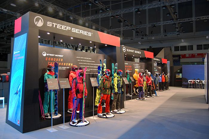 The North Face - Trade Show Product displays | designerly ...
