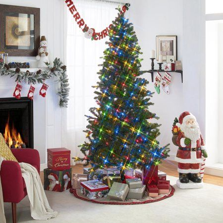 designer fashion 08c26 00788 Holiday Time 7.5-Foot Light Command Tree, 420 Voice ...