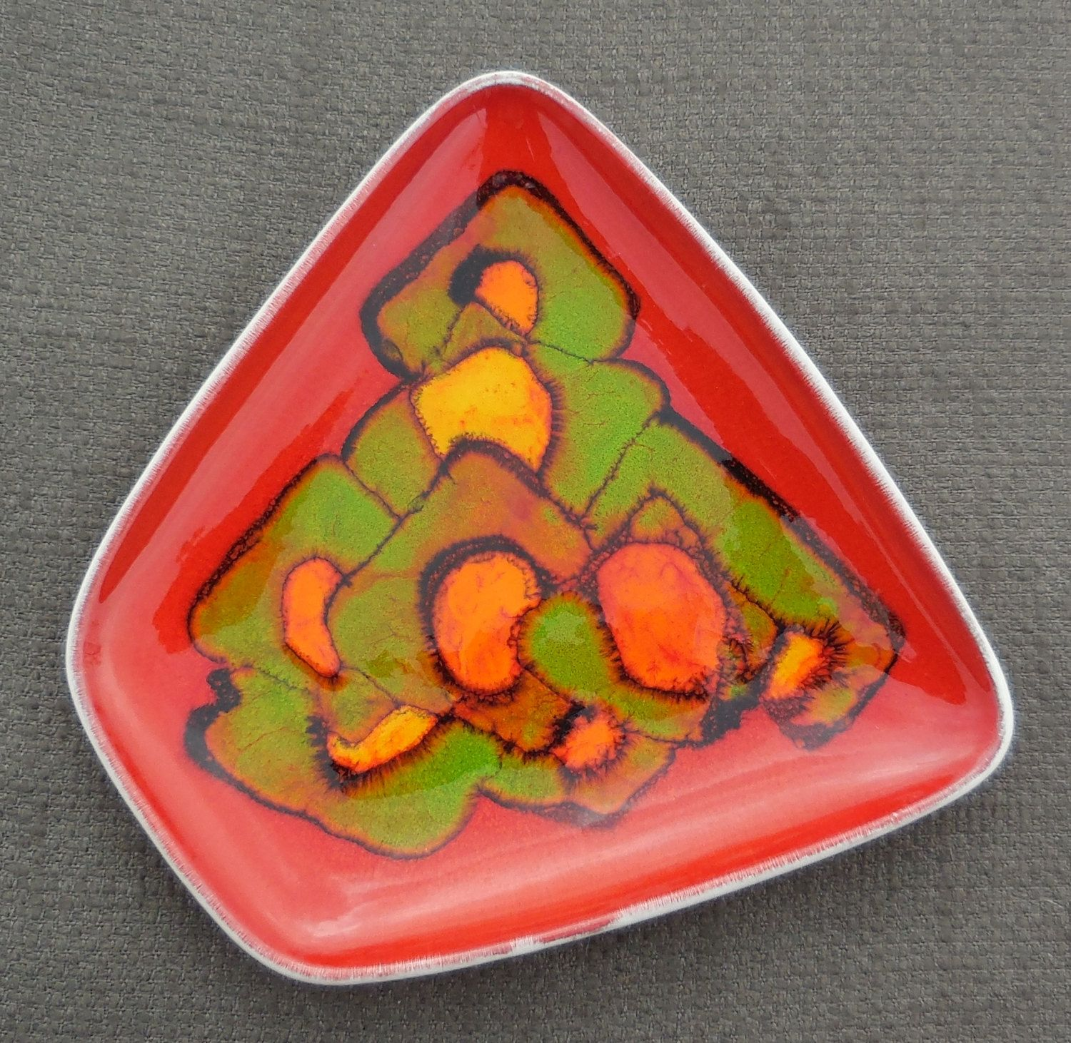 Amazing 1968 vintage poole pottery delphis abstract etsy
