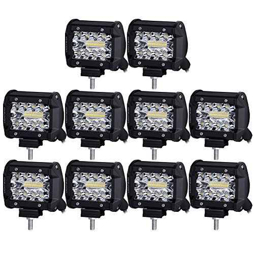 LED Pods Liteway 10X70W Triple Row LED Light Bar 4 inch Spot Beam CREE LED Driving Lights Off Road Lighting LED Work Lights for Truck Car ATV Boat SUV ...  sc 1 st  Pinterest & LED Pods Liteway 10X70W Triple Row LED Light Bar 4 inch Spot Beam ...