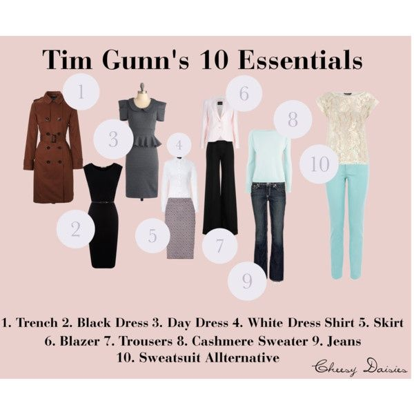Tim Gunn's 10 essential items