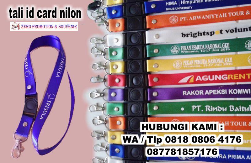 Jual Tali Id Card Nilon Kilap  Tangerang
